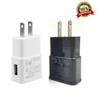 2A Wall Charger Plug Home/Travel Power Adapter For iPhone Samsung Android LG HTC