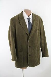Jan Paulsen grün-braunes Cord-Sakko Gr.54/XL Baumwollmischung Top Zustand