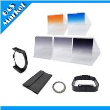 6 filter kit Gradual ND2 ND4 ND8 Orange Blue/ 77mm ring adapter f Cokin p series