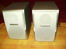 HiFi Lautsprecher Boxen, DENVER Speaker System 4 Ohm, gebraucht