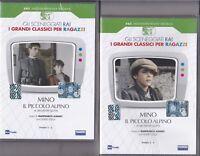 2 Dvd Sceneggiati Rai MINO - IL PICCOLO ALPINO con Guido Cella completa 1986