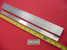 "10 Pieces 1/8"" X 3/4"" ALUMINUM FLAT BAR 14"" long 6061 T6511 New Mill Stock"