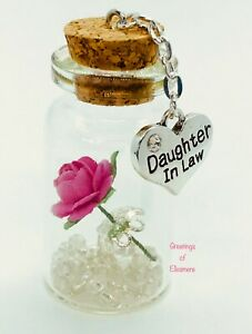 Daughter In Law Miniature Gift Keepsake Bottle Present Birthday Or Any Occasion