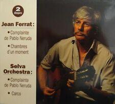 JEAN FERRAT 95 INEDIT ! - Double CD luxueux jamais sorti dans le commerce.
