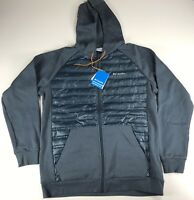 Columbia Northern Comfort Hoody Jacket Blue Men Size Large
