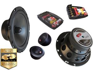 "NIB CDT AUDIO CL-61.2  2-WAY 6.5"" HIGH DEF CAR AUDIO COMPONENT SET FREE GIFT!!!"
