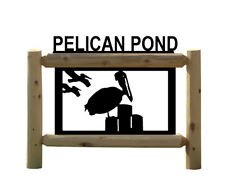 Nautical Decor - Pelicans - Signs