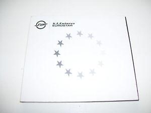 S.I. FUTURES - EUROSTAR  4tr. CD MAXI UK 2002
