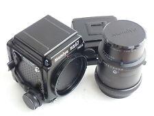 Mamiya RZ67 II body & Z 180mm / f4.5 W-N lens & 120 rollfilm holder