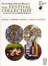 Éxito con los maestros Festival Colección jugar música de piano Libro 2 & Cd