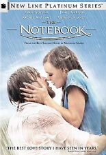The Notebook,Ryan Gosling, Rachel McAdams, DVD