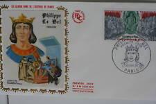 ENVELOPPE PREMIER JOUR SOIE 1968 PHILIPPE LE BEL
