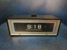 Vintage General Electric GE Roll Flip Alarm Clock 492E