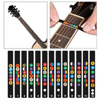 13pcs Guitar Scale Stickers For Electric Guitar Colorful Premium Stickers