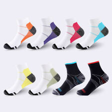 Unisex Plantar Fasciitis Arch Ankle Support Compression Socks Running Sport Sock