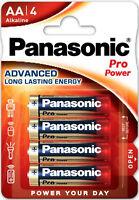 16x Panasonic Pro Power AA Batterien LR6 Alkaline 4x4er Bl. MN1500 LR6PPG/ 4BP