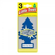 Little Trees Hanging Car Air Freshener New Car Scent 6 Pck Home Office Truck