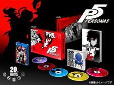 Persona 5 20th Anniversary Edition Treasure BOX PS4 Atlus PlayStation 4 Japan