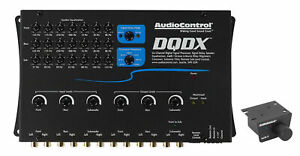 AudioControl DQDX 6 Channel Digital Signal Processor DSP + Remote Audio Control