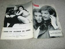 CINE SPETTACOLO,1971,GATTO A NOVE CODE,CONFORMISTA,STRANO VIZIO SIGNORA WARDH,