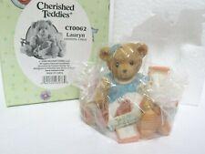 Cherished Teddies NIB! C65 #CT0062 Lauryn w/ Shoes Figurine READ DESCRIPTION!