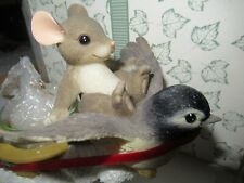 Charming Tails - Silent Night - 93/453 Fitz and Floyd Christmas Mib