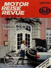 Motor Reise Revue 3 1983 Fiat Uno Austin Metro Opel Senator Opel Kadett GTE