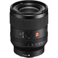 New Sony FE 35mm f/1.4 GM Lens SEL35F14GM