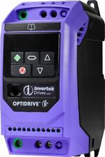 INVERTEK OPTIDRIVE INVERTER E3 IP20 ODE-3 SINGLE PHASE IN 3 PHASE OUT FAST POST
