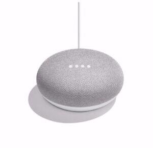 Google Home Mini Smart Assistant Speaker - Chalk Brand New and Sealed