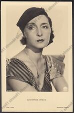 DOROTHEA WIECK 10 ATTRICE ACTRESS SCHAUSPIELERIN CINEMA - CAPPELLO HAT Cartolina