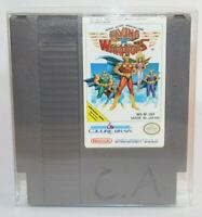 Flying Warriors NES Nintendo Authentic, Cleaned, & Tested! Works Great! RARE!