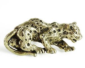 Swank Lynx Jaguar Cheetah Vintage Cufflink SINGLE Figural Animal Cuff Link