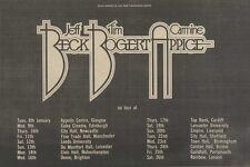 "M29/12/73PM15 Jeff beck- tim bogert & carmin appice tour dates advert 7x11"""