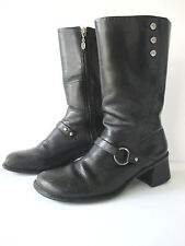 Harley Davidson Women's Motorcycle Boots Size 8M Black Leather