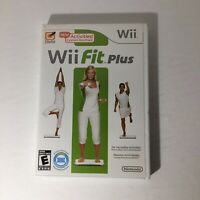 Wii Fit Plus - Nintendo Wii - Exercise Game - NO Balance Board -