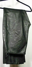 Wilson Pelle Studio Sz 8 Pants Soft Supple Smooth Warm Leather Black (23K4B120)