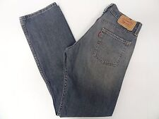 Levis Mens 514 Slim Straight Painters Blue Jeans 29x32 29/32 FREE SHIPPING 603