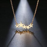 Women Necklace Lover Pentacle Pentagram Pendant Necklace Engagement Jewelry Dp