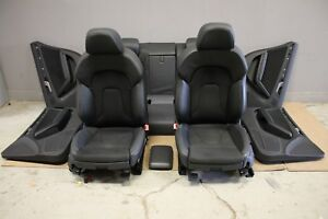 Audi A5 Facelift Sportback S-line Leder / Stoff Sitze Ausstattung