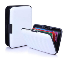 New Aluminum Business ID Credit Card Wallet Holder Pocket Organizer Storage Box