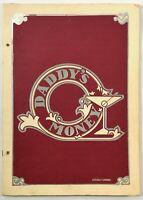 1982 Vintage Large Menu & Wine List DADDY'S MONEY Restaurant Clearwater Florida