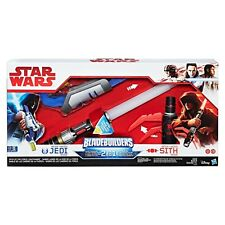 NEW HASBRO STARWARS BLADEBUILDERS PATH OF THE FORCE LIGHTSABER 2 in 1 C1412