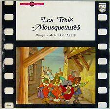 Les Trois Mousquetaires A. Dumas 33 tours Michel Polnareff