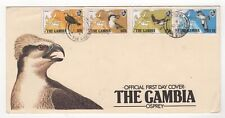 1983 GAMBIA First Day Cover OSPREY - BIRDS OF PREY Issues BANJUL