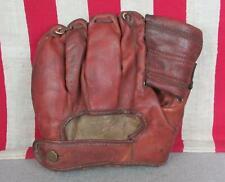 Vintage 1950s Draper Maynard D&M Leather Baseball Glove Mitt Robin Roberts HOF