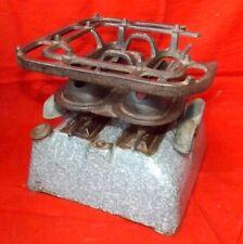1800 Vintage Military Stove Enamel Plated Military Burner England