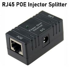 Passive Poe Injector for Ip Camera Netwrok Ap Device 5V- 52V Rj45 Dc plug lot