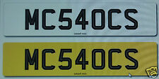 McLaren 540C Sport - Cherished Registration - Number Plate MC540CS FOR SALE