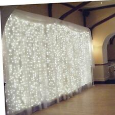 OMGAI Window Icicle Fairy Lights 300LED 3m (White) (Upgraded Low Voltage)